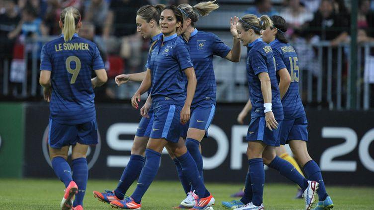 L'équipe de France féminine de foot