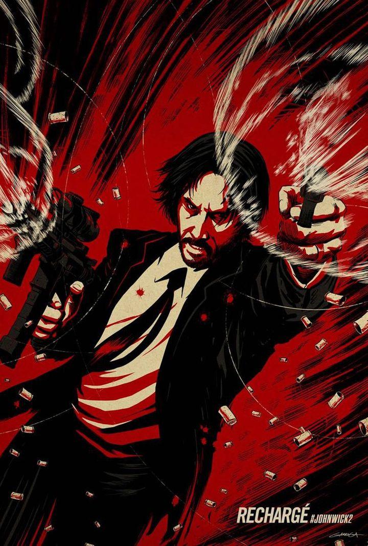 """""""John Wick 2' : une des affiches américaines  (Metropolitan FilmExport)"""