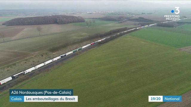 Brexit : des embouteillages à rallonge entre Calais et l'Angleterre