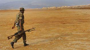 Un militaire éthiopien à la frontière entre l'Ethiopie et l'Erythrée en octobre 2009. (AP - BOISVIEUX CHRISTOPHE / HEMIS.FR / HEMIS)