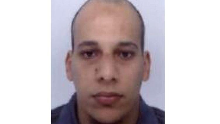 """Photographie de Chérif Kouachi, l'un des deux auteurs de l'attentat de """"Charlie Hebdo"""". (POLICE NATIONALE)"""