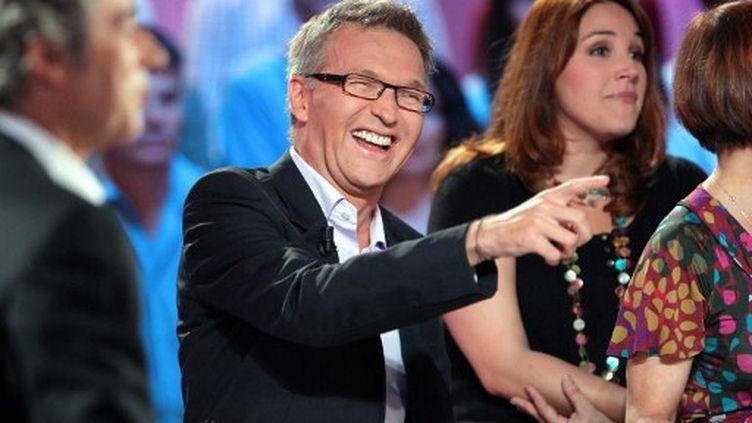 """Laurent Ruquier anime l'émission """"On n'est pas couché"""" sur France 2 (AFP)"""