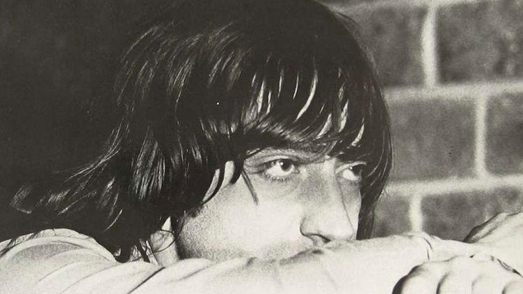 """Jacques Tholot sur la pochette de son album """"Watch Devil Go"""" (Palm Records, 1975)"""