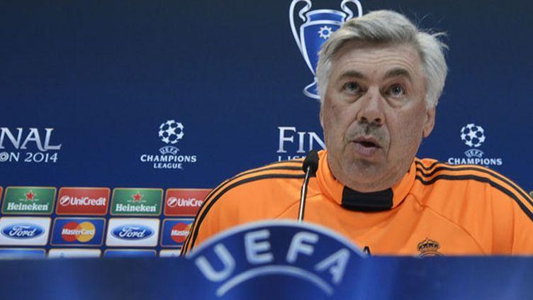 L'entraîneur du Real Madrid, Carlo Ancelottti