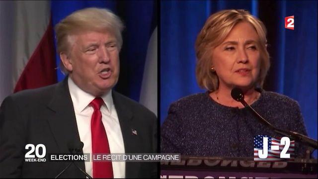 Présidentielle américaine : la campagne résumée en trois minutes