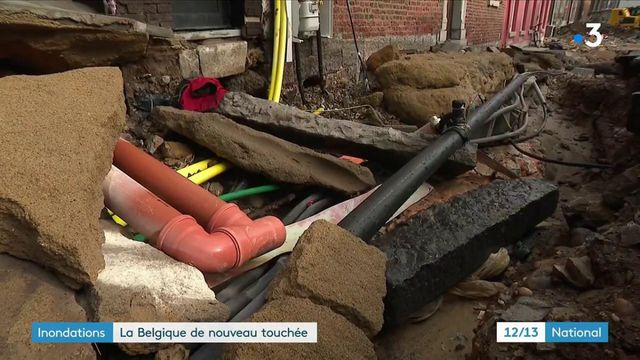 Inondations : la Belgique touchée à nouveau