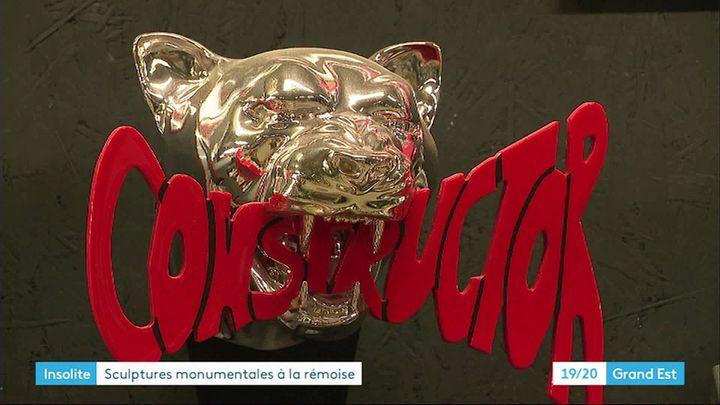 Trophée pour la formule 1 réalisé par Angelo Lembo (France 3 Grand Est)