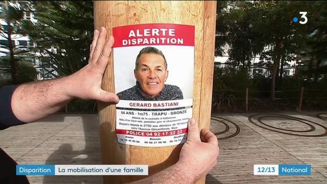 Nice : la famille d'un malade d'Alzheimer disparu se mobilise