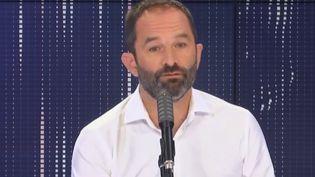 Benoît Hamon,conseiller régional d'Île-de-France et fondateur du mouvement Génération.s, invité de franceinfo le 14 septembre 2020 (RADIO FRANCE)