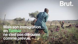 VIDEO. Kevine raconte son dur quotidien en Tunisie sur TikTok (BRUT)