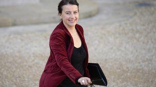 La ministre du Logement, Cécile Duflot, au palais de l'Elysée, le 23 octobre 2013. (MARTIN BUREAU / AFP)