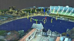 """Baptisés """"Neopters"""", 14 drones font irruption dans le spectacle Cinéscénie du Puy du Fou  (France 3 / Culturebox)"""