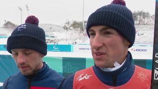 Alors que la fin des Jeux paralympiques approche à Pyeongchang (Corée du Sud), l'équipe de France a atteint le total de 16 médailles. (France 2)