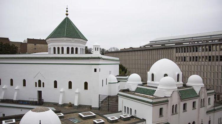 (La grande mosquée de Paris où un rassemblement aura lieu vendredi en début d'après-midi © MAXPPP)
