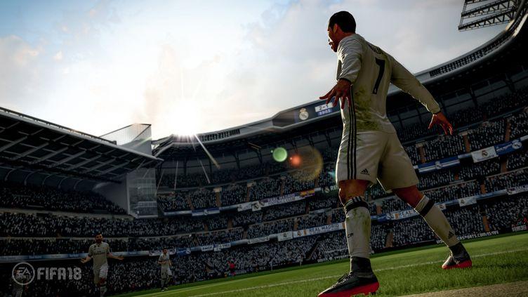 Cristiano Ronaldo affole Fifa18