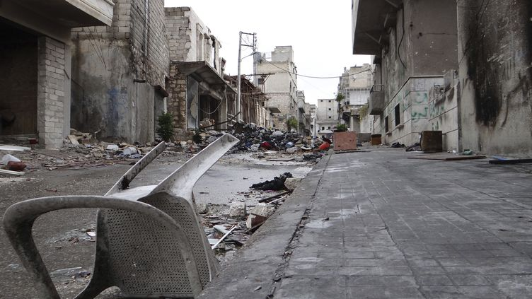 Les rues d'Alep (Syrie) el 11 décembre 2012 (REUTERS)