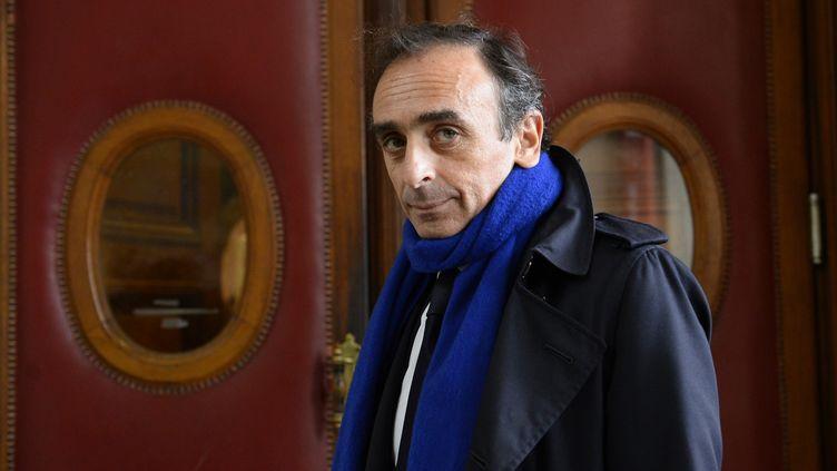 Eric Zemmour au tribunal de grande instance de Paris, le 6 novembre 2015. (BERTRAND GUAY / AFP)