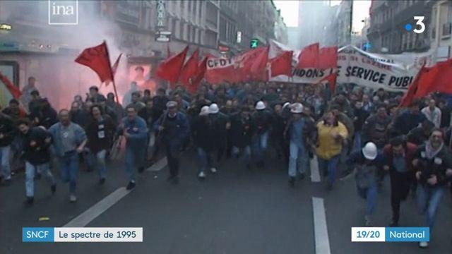 Réforme de la SNCF : le spectre de la grande grève de 1995