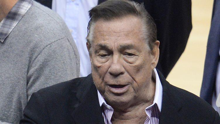 Donald Sterling propriétaire de la franchise des Clippers (ROBYN BECK / AFP)