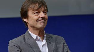 L'écologiste et ancien animateur télé Nicolas Hulot, le 10 décembre 2015 à Paris. (ERIC PIERMONT / AFP)