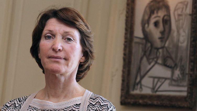 Marina Picasso, la petite-fille du célèbre peintre  (Jean-Christophe Magnenet / AFP)