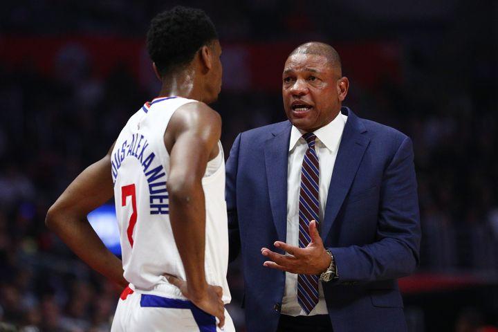 Sans superstar, Doc Rivers a réussi à amener les Clippers en playoffs. (YONG TECK LIM / GETTY IMAGES NORTH AMERICA)