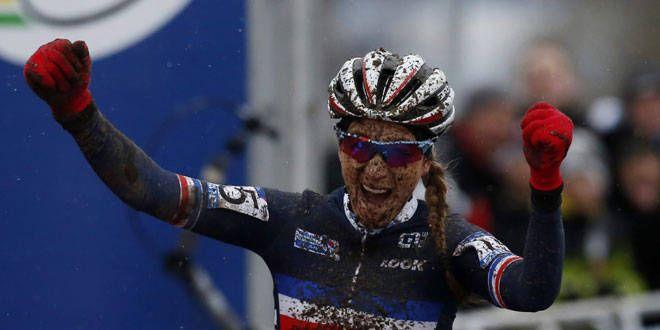 La cycliste française Pauline Ferrand-Prévot