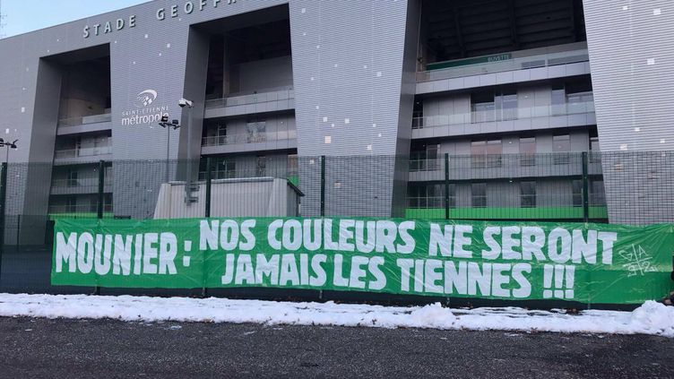Anthony Mounier n'est pas le bienvenu à Saint-Etienne
