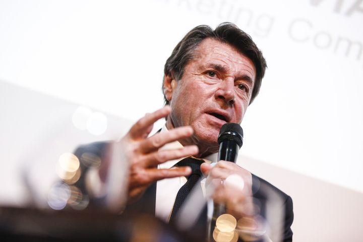 Christian Estrosi, le 26 novembre 2019, à Paris. (JEAN MICHEL LE MEUR / DPPI MEDIA)