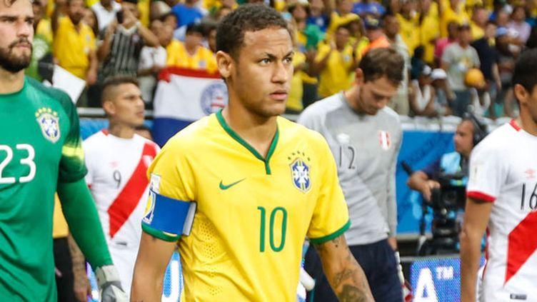 L'attaquant du Brésil, Neymar
