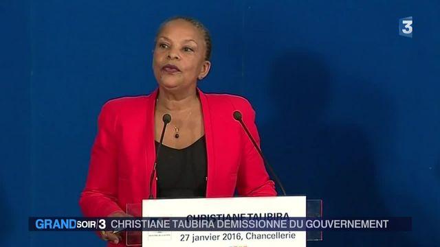Christiane Taubira : la ministre de la Justice démissionne