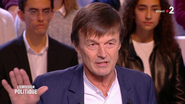 """Nicolas Hulot ur la taxe carbone : """"Il faut un accompagnement social digne de ce nom"""""""