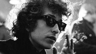 Bob Dylan à Copenhague en 1966.  (Scanpix Suede /SIPA)