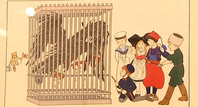 """Mettre """"l'oiseau de proie allemand"""" en cage...  (France 3)"""