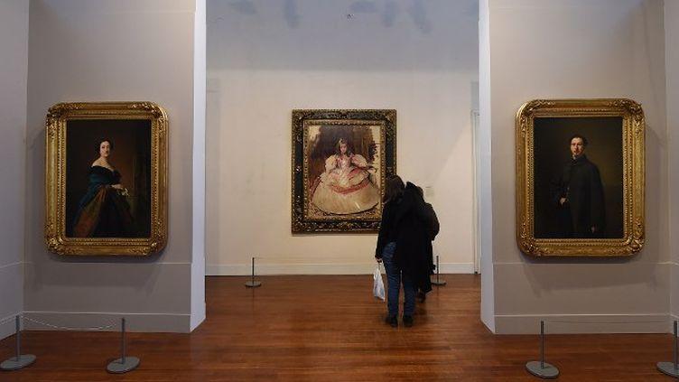 """""""Le portrait espagnol au musée dans les collections du Prado"""" à Montauban  (Éric Cabanis / AFP )"""