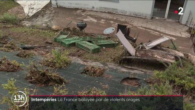 Intempéries : la France balayée par de violents orages