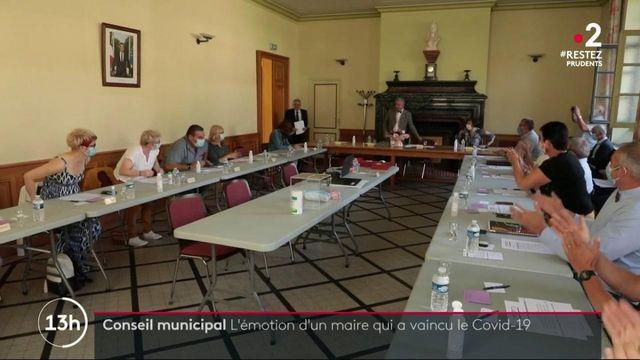 Loiret : l'émotion d'un maire guéri du coronavirus