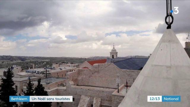 Bethléem : un Noël sans les touristes