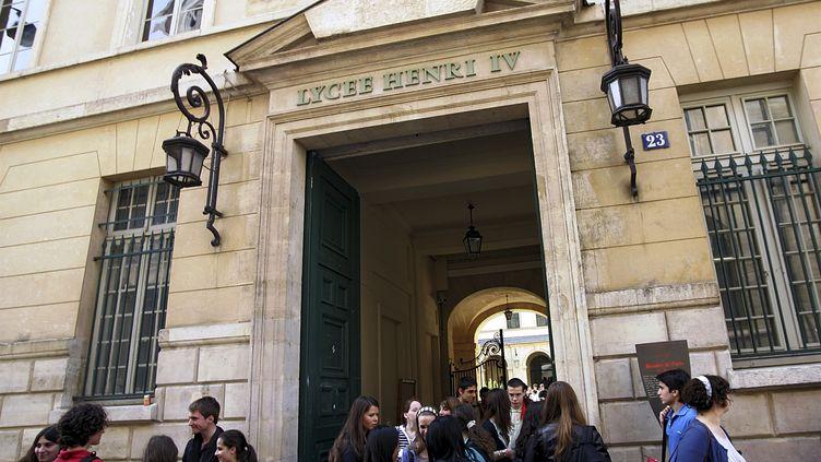 Le lycée Henri-IV, à Paris, qui compte des classes préparatoires très sélectives. (SÉBASTIEN RABANY / PHOTONONSTOP / AFP)