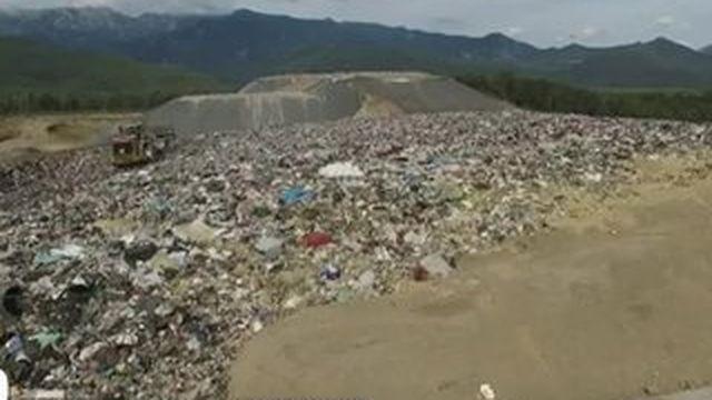 La Corse submergée de déchets