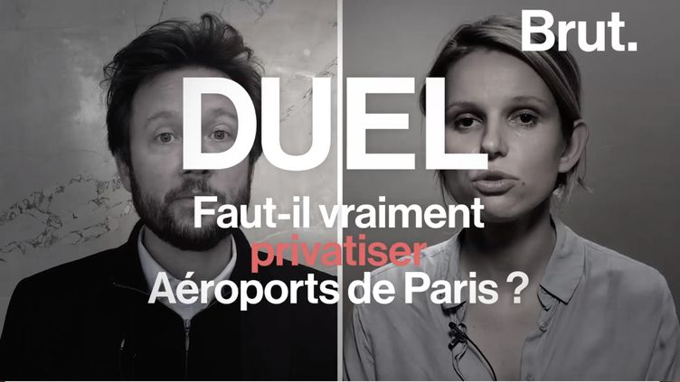 Ce jeudi 11 avril, la loi Pacte a été adoptée à l'Assemblée nationale. Elle intègre la privatisation du groupe Aéroports de Paris. Les opinions des députés Marie Lebec et Boris Vallaud divergent à ce sujet. (BRUT)