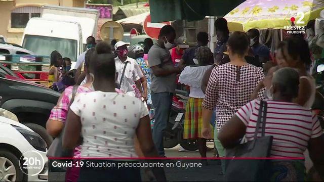 Covid-19 : situation préoccupante en Guyane