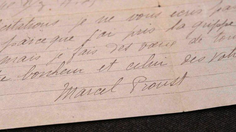 Toute la correspondance de Marcel Proust va être mise en ligne petit à petit.  (Ginies / SIPA)
