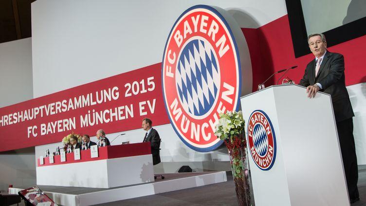 Bénéfice record pour le Bayern en 2015-16 (SVEN HOPPE / DPA)
