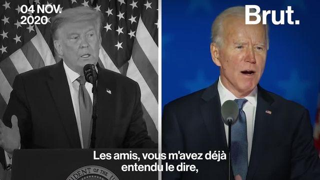Joe Biden s'approche de la victoire. Donald Trump, lui, estime avoir déjà remporté l'élection. Décryptage.