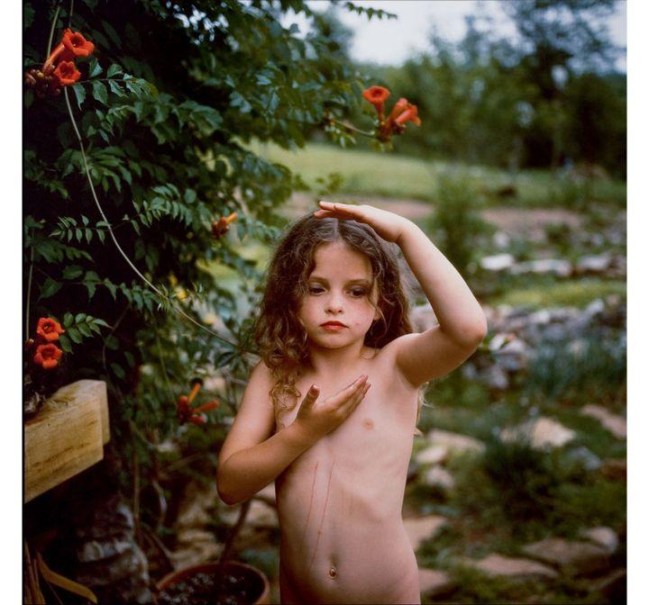 "Sally Mann, ""Trumpet Flowers"", 1991, Cibachrome, Collection privée (© Sally Mann)"