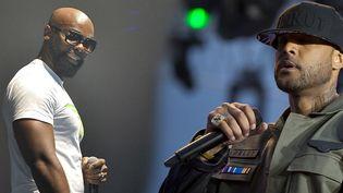Les rappeurs Kaaris et Booba, en 2014  (SADAKA EDMOND/SIPA - SYSPEO/SIPA)