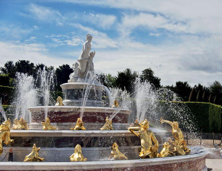 Le bassin de Latone restauré  (Château de Versailles )