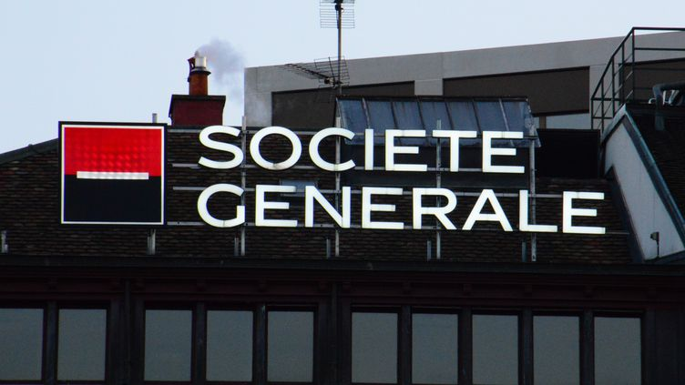 Le siège de la Société générale à Genève (Suisse), le 6 avril 2016. (RÉMY GENOUD / CITIZENSIDE / AFP)