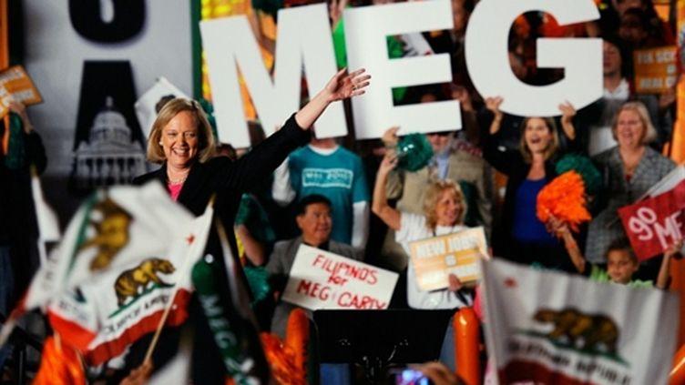 La républicaine Meg Whitman n'a pas réussi à succéder à Arnold Schwarzenneger comme gouverneur de Californie (AFP/KEVORK DJANSEZIAN)